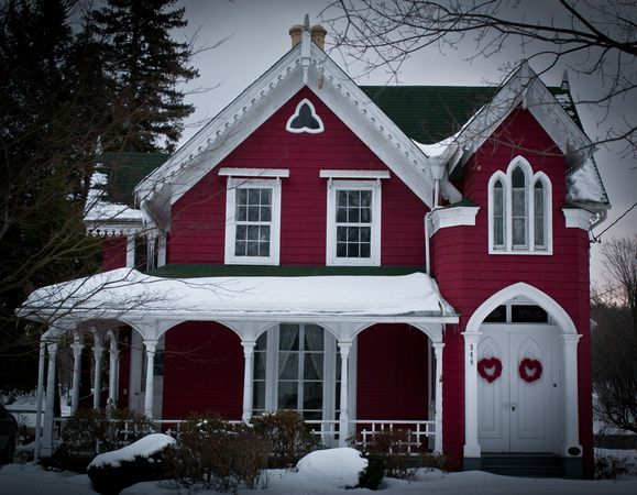 17 best images about exterior gothic revival on for Gothic revival home plans
