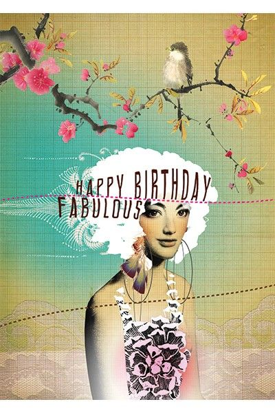 MAMÃO! Cartão 5x7 Art aniversário fabuloso - Cartões * NEW * - Cards & Paper - SHOP