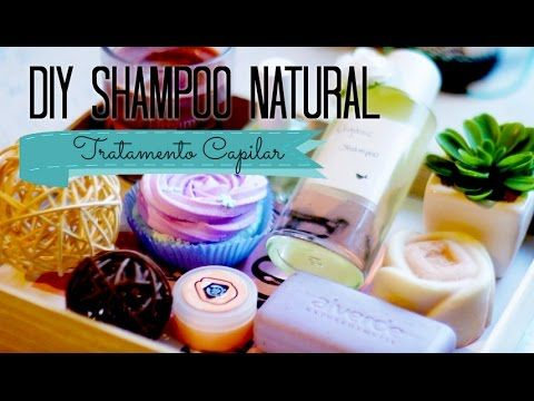 DIY: Como Fazer Shampoo Orgânico Em Casa   Natural   Tratamento Capilar
