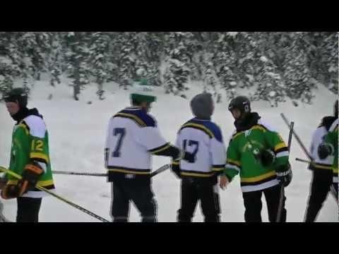 Lake Louise Pond Hockey Classic 2011!