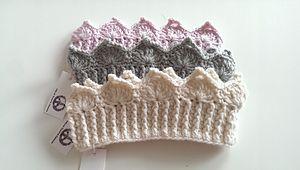 crocheted crown | baby crown | birthday crown | crochet pattern | baby accessory | heklet krone | baby krone | crocheted headband