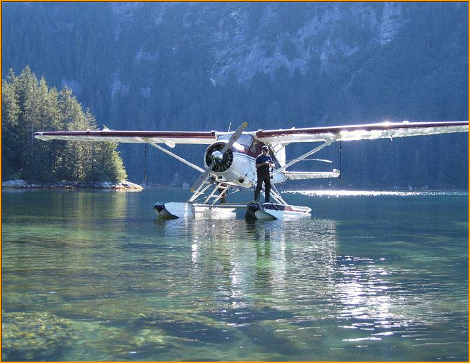 Float plane - more people have boats and / or planes in Alaska than have cars