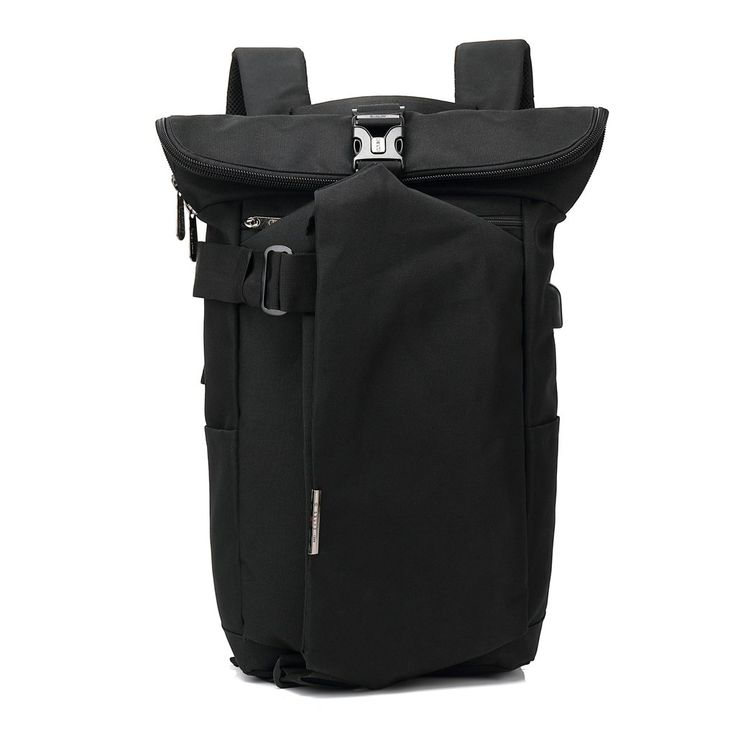 Cityscape || Travel Backpack with USB Charging Port