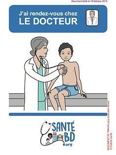 Un outil de communication patient-médecin décrivant les consultations par des illustrations et du texte en français facile