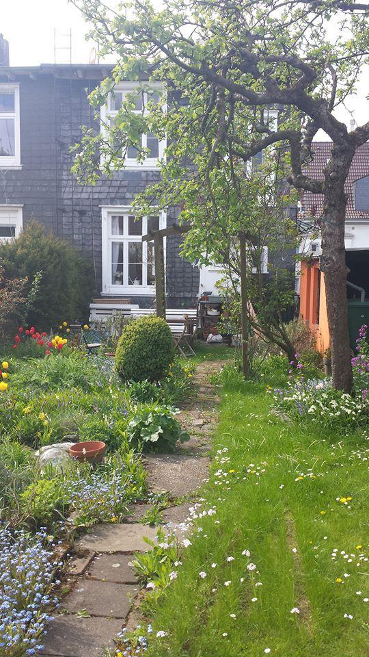 Mein Frühlingsgarten ...
