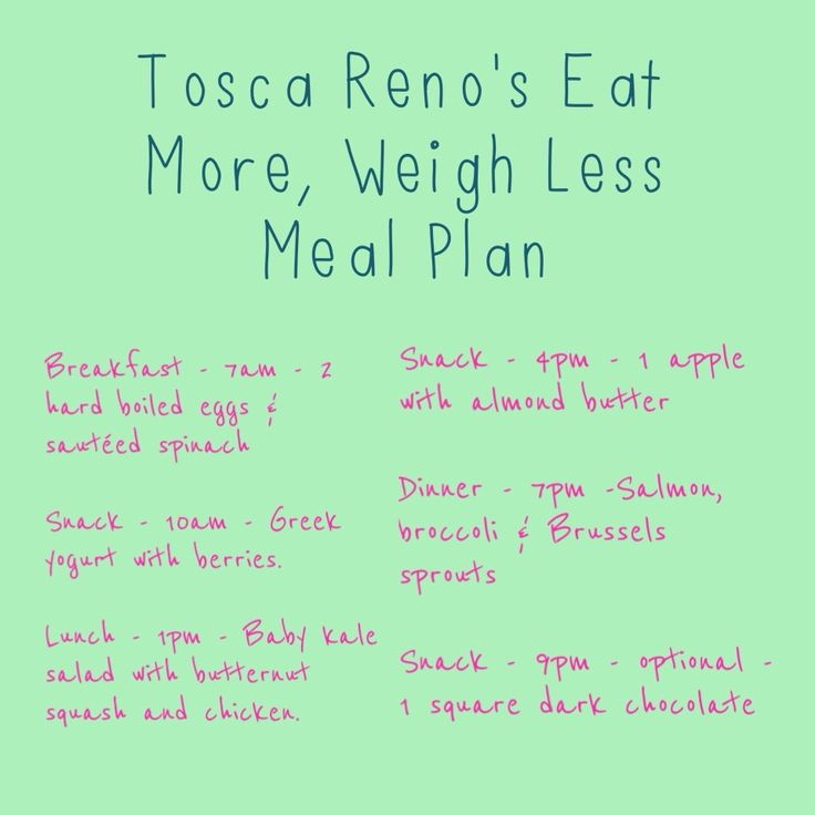 Start Here Diet Challenge - Day 22 - Eat More Weigh Less! - Tosca Reno