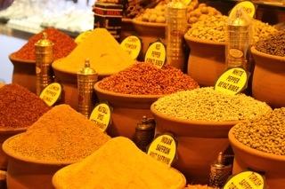 Grand Bazaar Spices, Istanbul, Turkey
