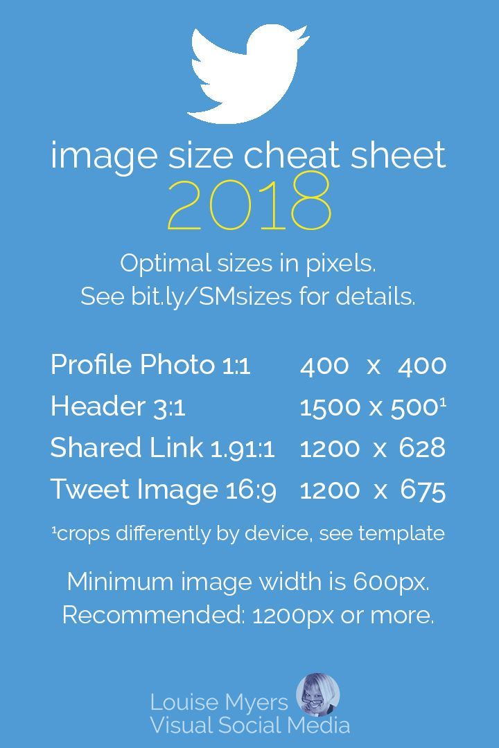 Social Media Cheat Sheet 2019: Must-Have Image Sizes