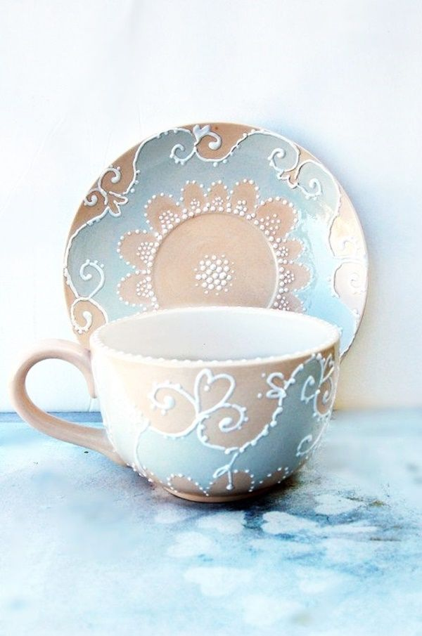 30 Amazing Pottery Painting Ideas To Try This Season Free Jupiter Tea Cups Pottery Painting Tea Pots