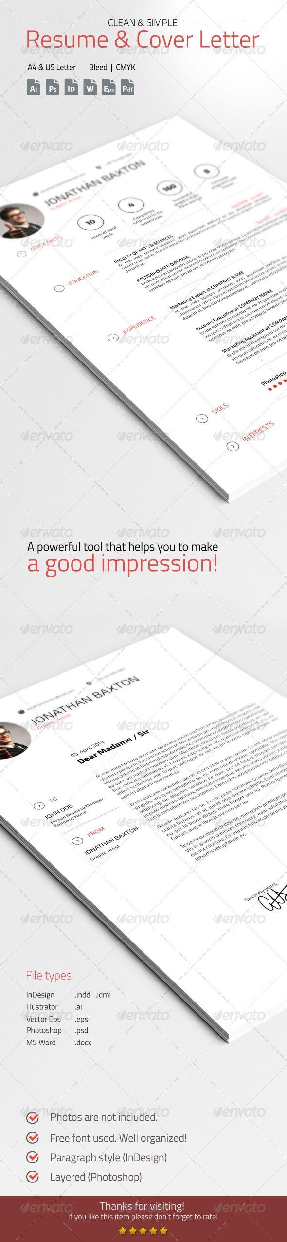 22 Best Curriculum Vitae Design Images On Pinterest Curriculum