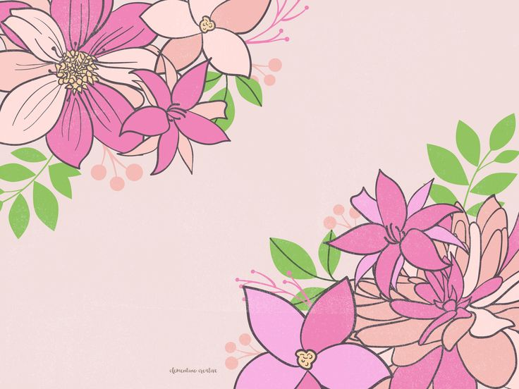 pink-and-peach-florals-ipad.jpg (2560×1920)
