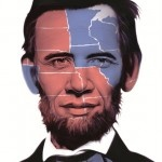 Abraham Obama Electoral Map 2012 Print by Ron English