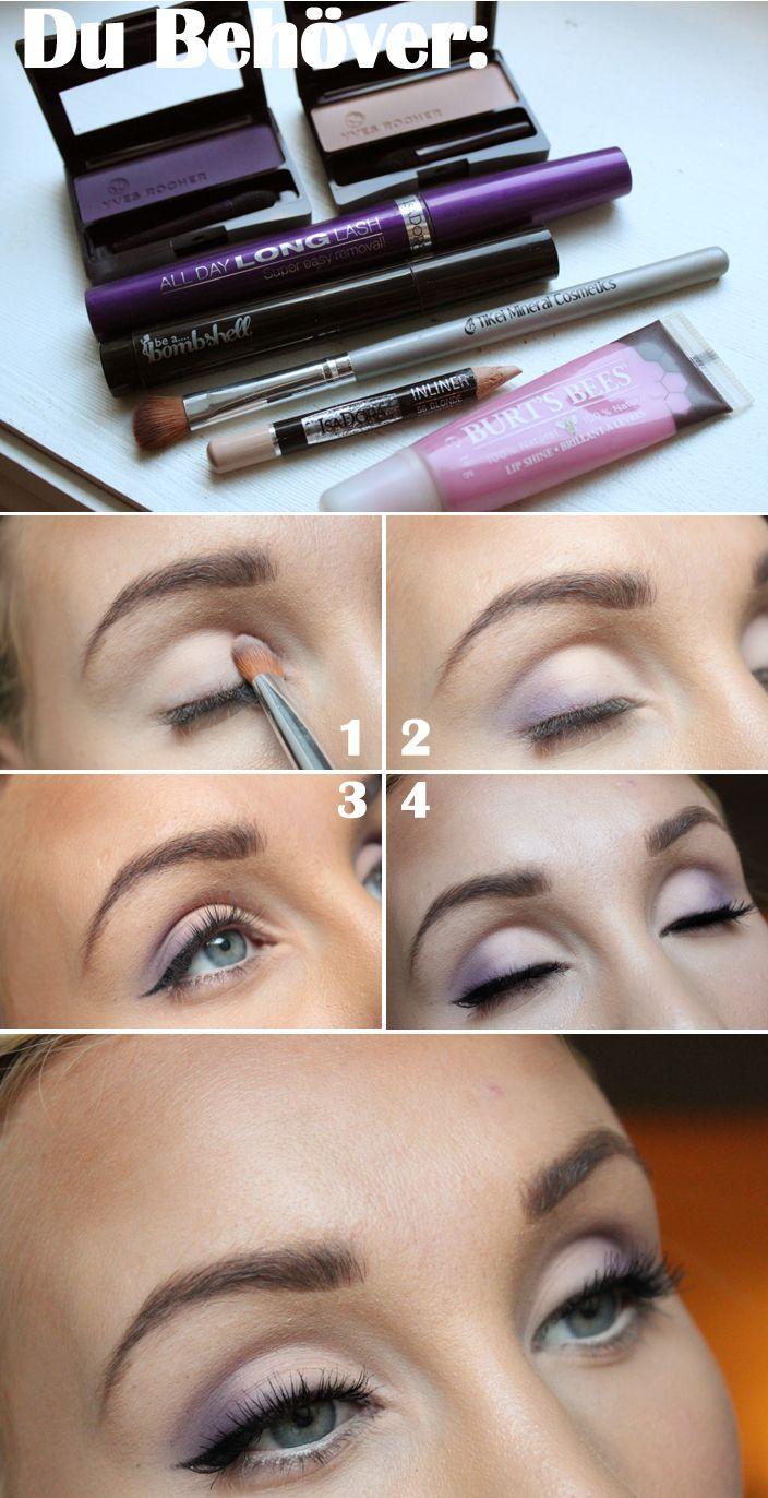 Tutorial from swedish makeup blogger Helen