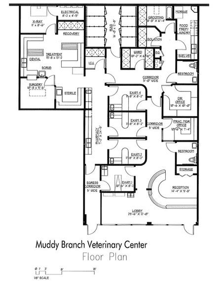 8 Best Images About Veterinary Floor Plans On Pinterest Gardens Receptions And Medical Center