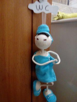 O Estaminé da Xé: Boneca de porta