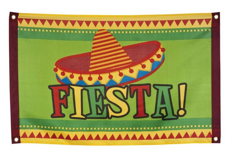 Gevelvlag Mexicaanse Fiesta (60x90) - als grapje