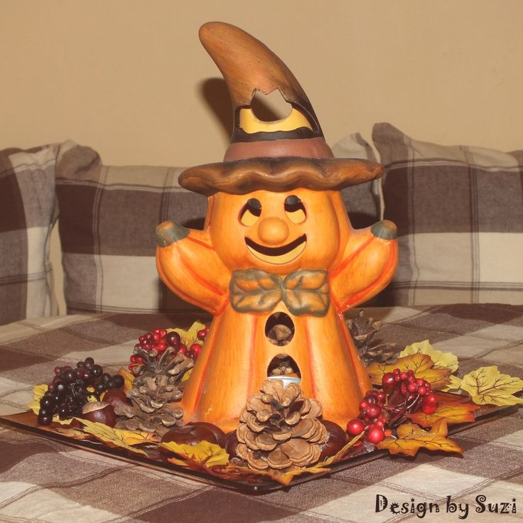 Autum 2014 pumpkin dekoration