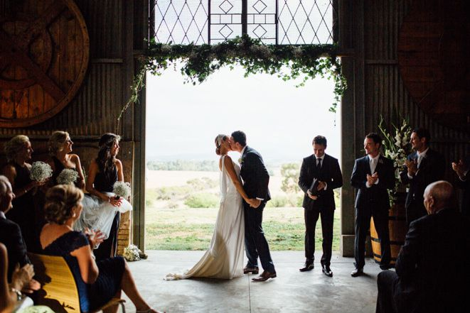 A unique Yarra Valley wedding venue, Zonzo Estate features a huge barn, Italian-style restaurant and 45 acres of vineyard and countryside for the big day.