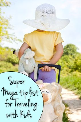 Traveling With Kids Mega Checklist. We will need this in August.