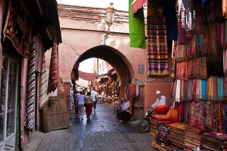 Souk - Medina of Marrakesh, Morocco