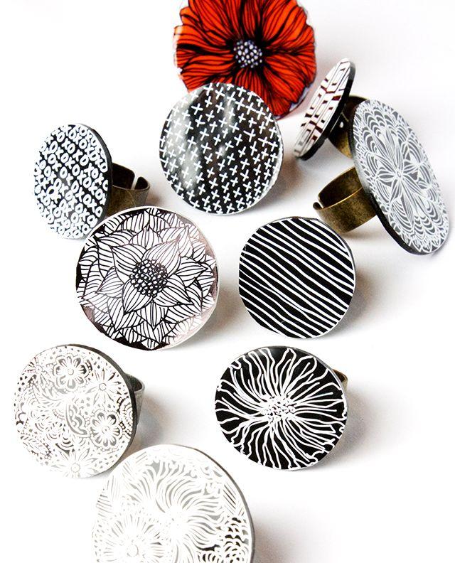 #6 plastic will work too... alisaburke: shrink plastic rings