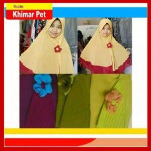 Jilbab Khimar Pet Trendy
