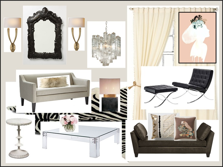 18 best hollywood regency living room images on Pinterest | Living ...
