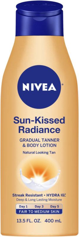 Nivea Sun-Kissed Radiance Gradual Tanner & Body Lotion Fair to Medium Ulta.com - Cosmetics, Fragrance, Salon and Beauty Gifts