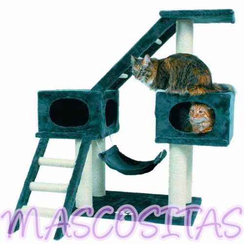 Duvo Rascador Kansas para Gato. Para que los gatos juguetones tengan un lugar donde jugar y afilarse las uñas.