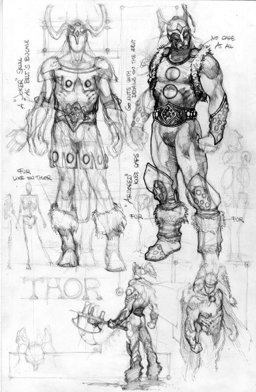 Thor and Loki Prelims by Simone Bianchi Comic Art