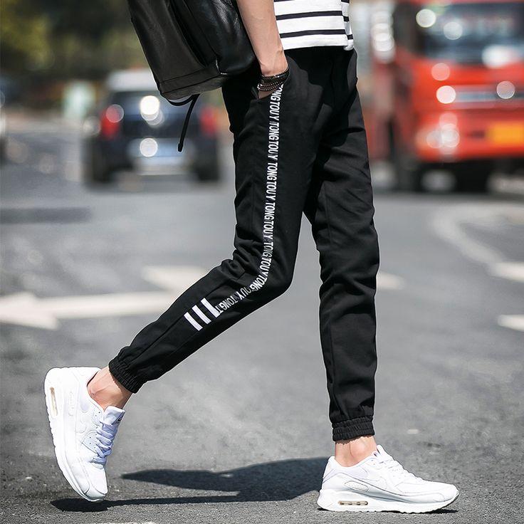 2016 New Brand-clothing Mens joggers Casual Men Pants Cotton Sweatpants men's pants Trousers Fashion Jogger Pants men black 5xl