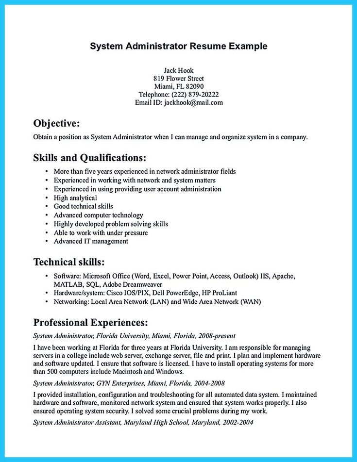 awesome Attract Your Employer with Defined Administrator Resume,