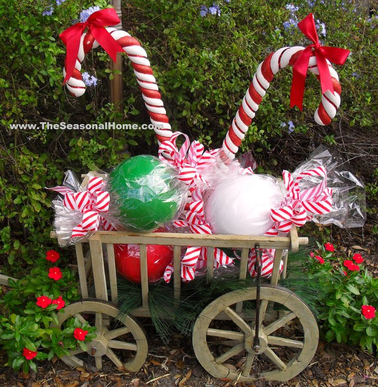 1186 Best Peppermint Candy Cane Christmas Decor Images On
