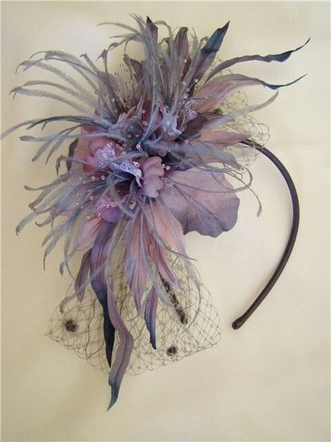 fascinator feathers.                                                                                                                                                                                 More