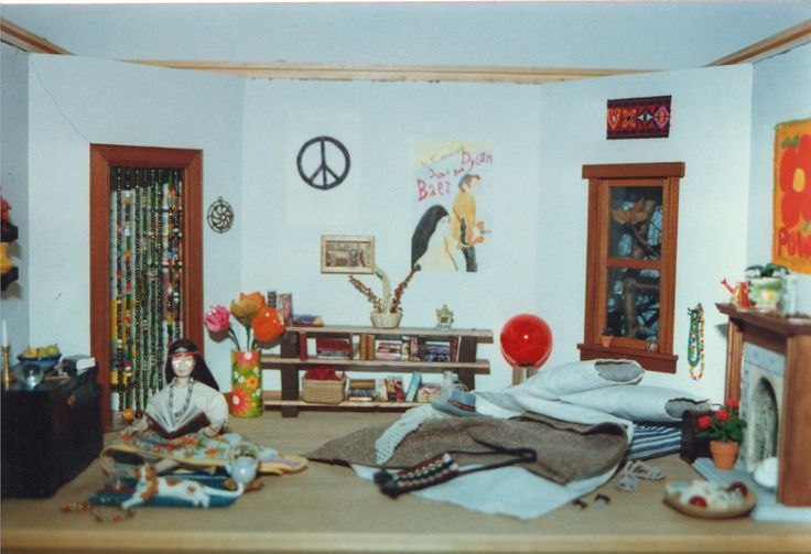 As the room looked when I first made it in the 1980s