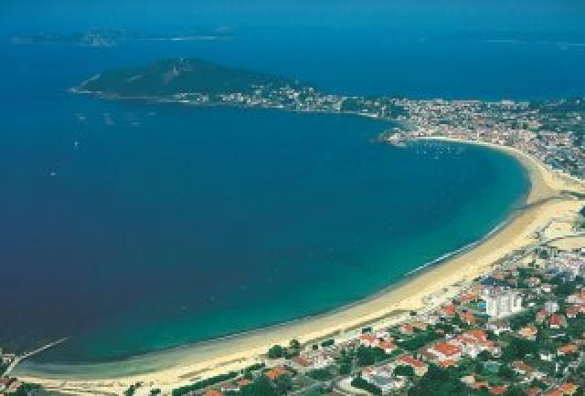 Playa América.Pontevedra
