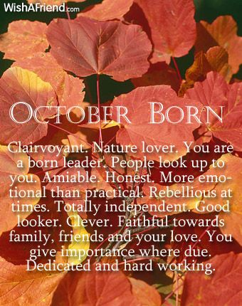 Clairvoyant. Nature lover. You are a born leader. People look up to you. Amiable. Honest. More emotional than practical. Rebellious at times. Totally independent. Good looker. Clever. Faithful towards family, friends and your love. You give importance where due. Dedicated and hard working.