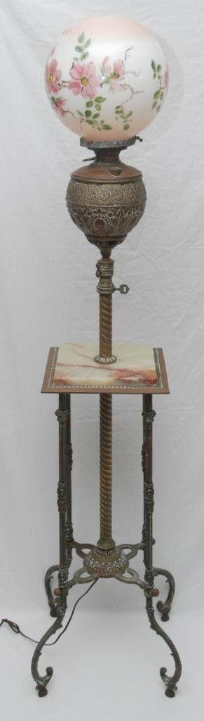 Antike Lampen Beleuchtung Vintage Mbel Stcken Ende Tabellen Sockel Llampen Tischleuchten