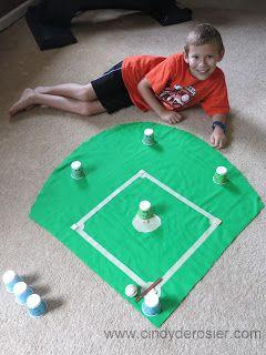 Cindy deRosier: My Creative Life: Project CAT - Challenge #4: Baseball Game