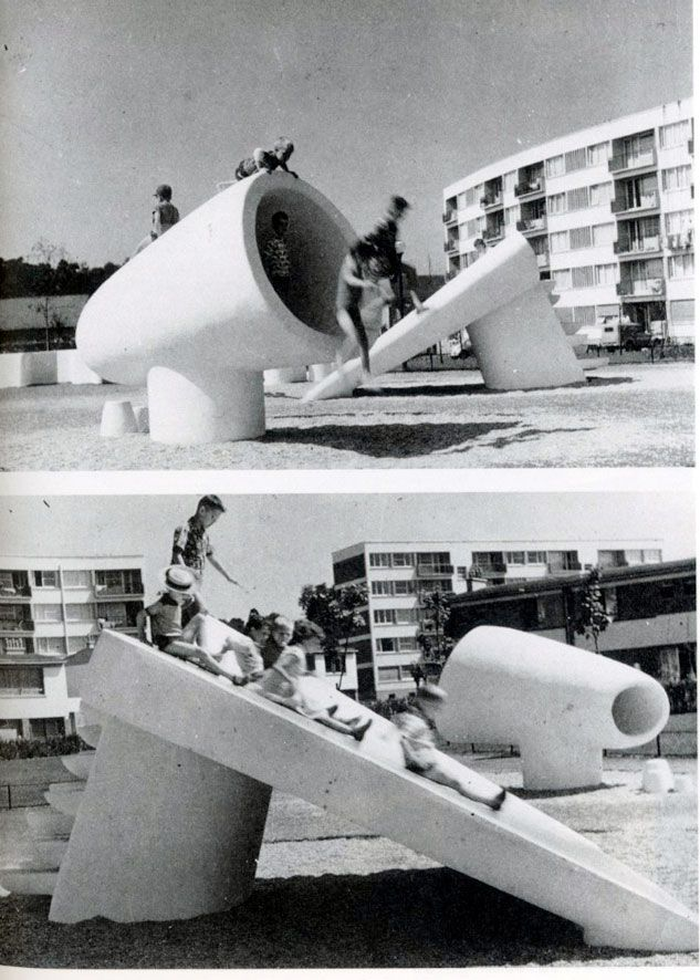 Pierre Szekely's Midcentury Modern Playgrounds | Playscapes