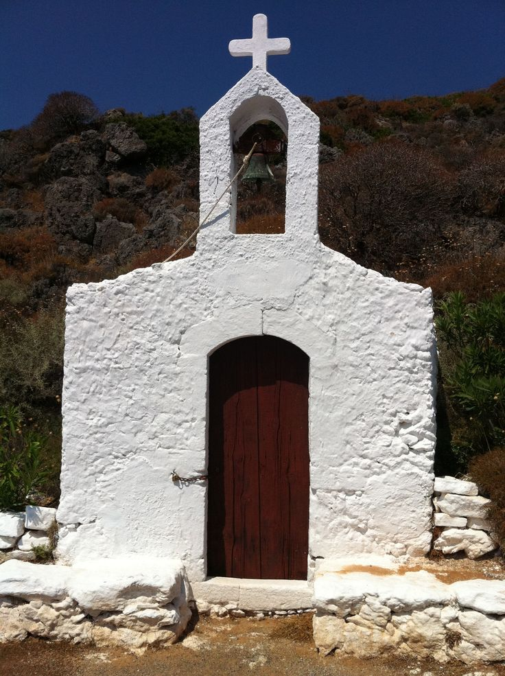 Kythera, entrance to a cave that Saint Peter used to rest on his way to Rome.