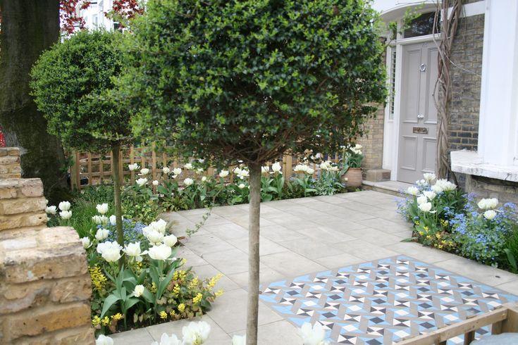 London front garden design