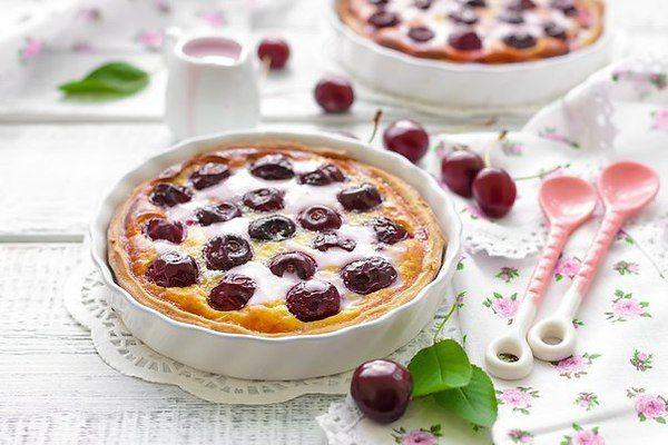 ТОП–3 замечательных пирогов с вишней