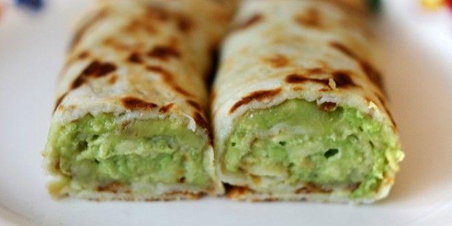 Pannenkoeken met avocado en kaas | Baby & Dreumes Eetfestijn