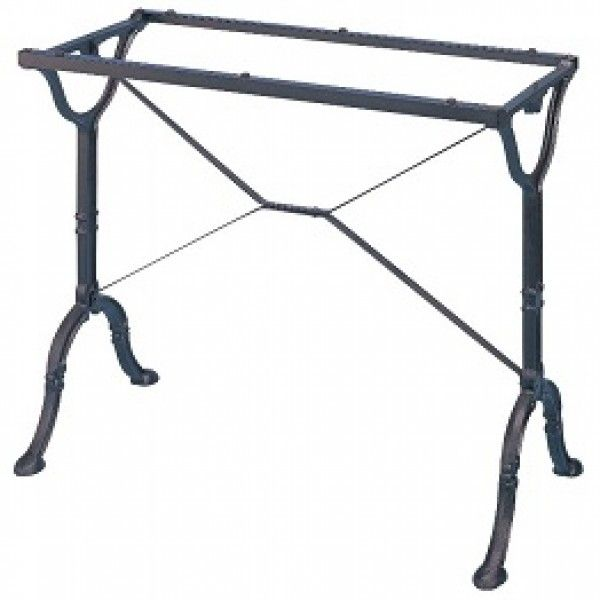 Cast iron pub table bases legs bistro tt101 for for Cast iron furniture legs for sale