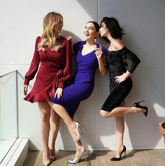 Turk Media On Instagram سلاطین سریال خانم های قدرتمند و زیبا Eda Ece Nesrin Cavadzade Sevvalsam ش Turkish Women Beautiful Turkish Beauty Style
