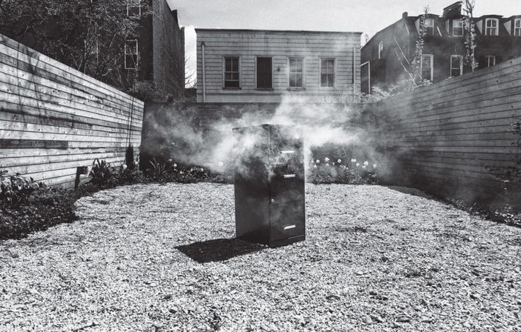 Why did Obsessivore columnist Adam Sachs turn a filing cabinet into a smoker? So he could get smoked salmon in his backyard, duh
