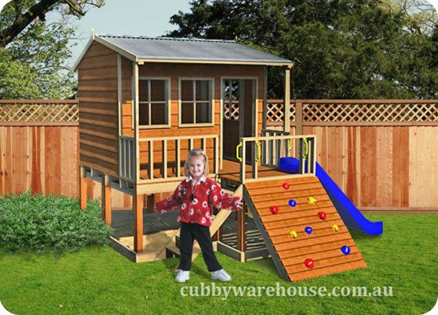 Hamster Hideout Cubby House  www.cubbywarehouse.com.au