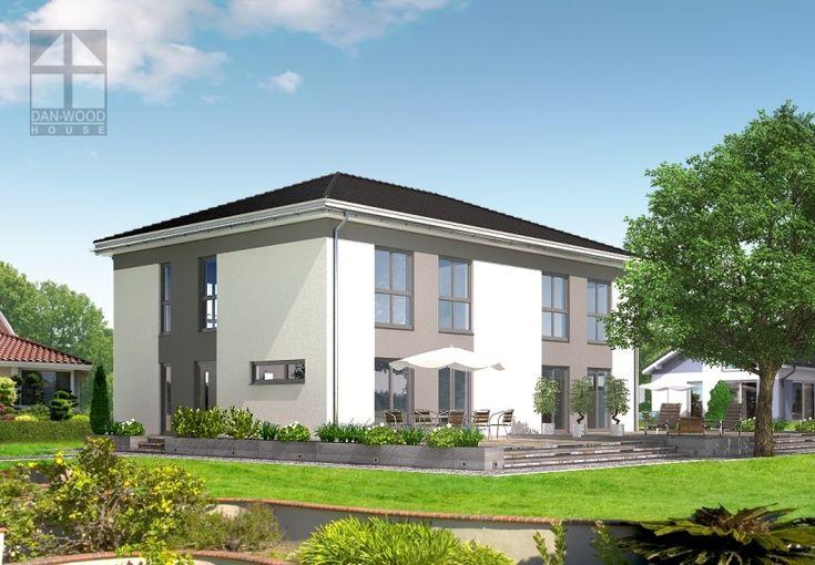 Doppelhäuser Danwood Partner 117W || #doppelhauser || http://www.danwood.de/hauser/doppelhauser/partner-117w