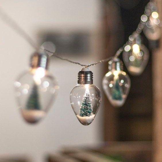 Hello Tiny Cutie Christmas Lights